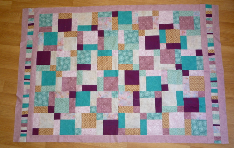 quilt for mom, with borders